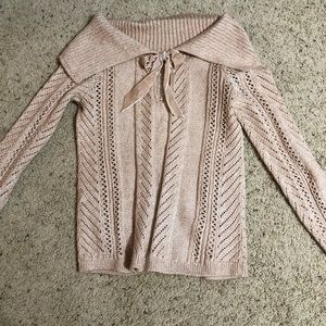 Nwot blush color sweater